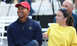 Photographs: Tiger Woods Visited By His Girlfriend In The Hospital