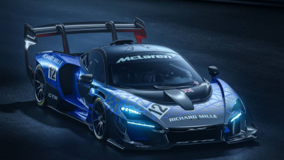 The 813hp McLaren Senna GTR is a track day fever-dream